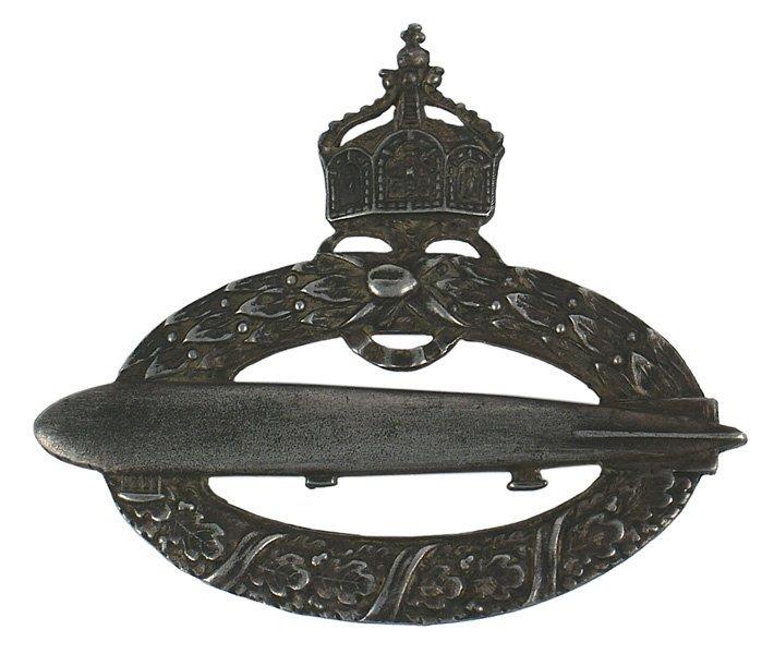 Prussian Navy Zeppelin Badge