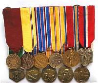 Lot of 3 US miniature medal bars