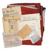 U.S. WWII GI souvenir Nurnberg flag letters