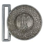 German WWII Army officer belt buckle