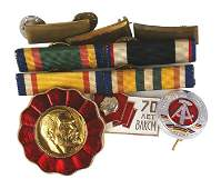 Lot miscellaneous military insignia U.S. etc
