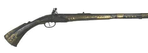 Balkan Flintlock Rifle early 19th Century