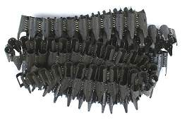 5 German WWII MG34MG42 machine gun belts