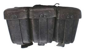 German WWII Navy K98 ammo pouches
