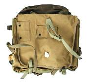 Lot of 2 US WWII back packs