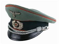 German WWII Army Artillery peaked cap