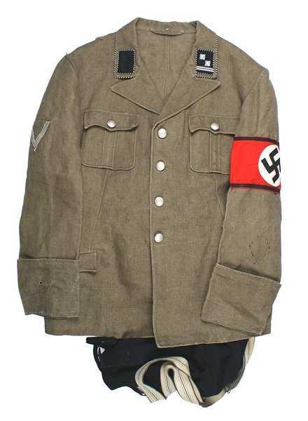 German Wwii Ss Sicherheitsdienst Sd Uniform