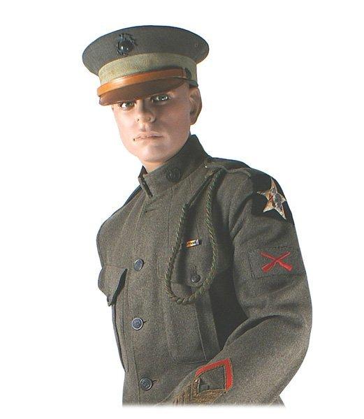 U.S. Marine WWI complete uniform MANNEQUIN