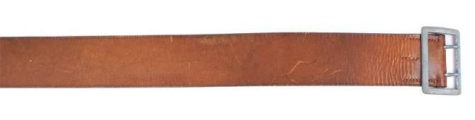 German WWII Army officer service belt