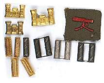 Lot of US WWI Machine Gunner patch etc