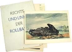 Prints of German WWII Eastern Front watercolors