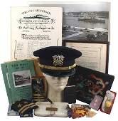 Lot postWWI career of US Navy officer