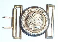 German WWII Reichsbahn officer belt buckle