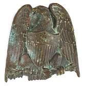US eagle helmet plate Circa 184050