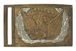 Civil War Cavalry brass belt buckle