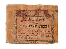 Civil War box 5 SECOND FUZES