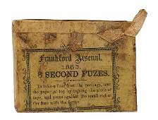 Civil War box 8 SECOND FUZES