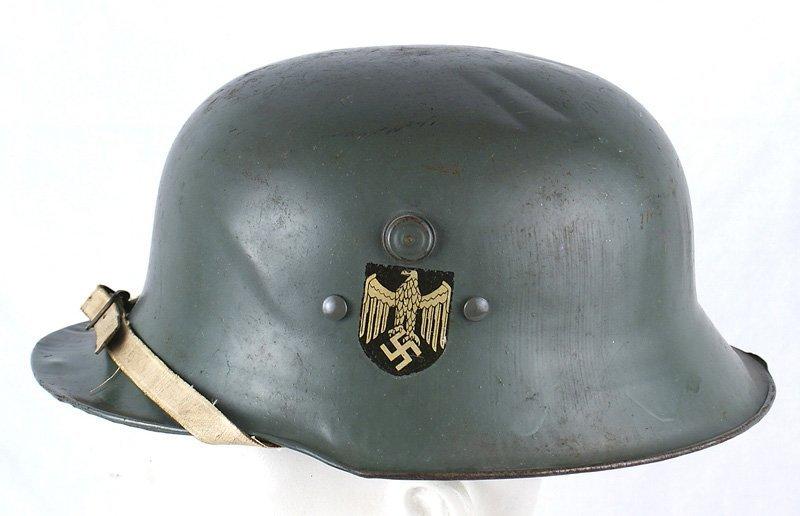 German WWII Kinderhelm helmet Child
