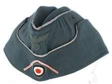 German WWII Panzer officer oseas cap