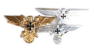 Lot of 3 German WWII Veterans eagles