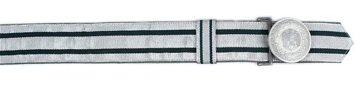German WWII Army officer brocade belt