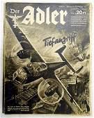German WWII Der Adler magazine