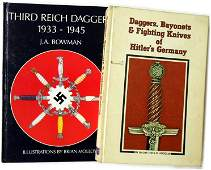 Lot of 2 German WWII reference books Daggers
