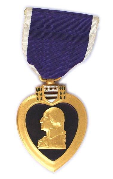 U.S. WWII Purple Heart Filthy 13 506th Parachute - 2