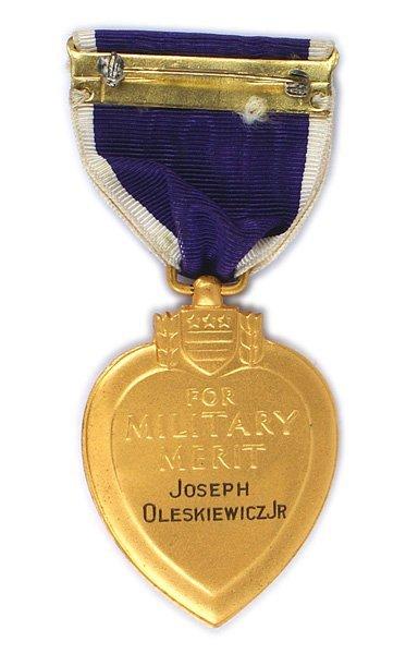 U.S. WWII Purple Heart Filthy 13 506th Parachute - 3