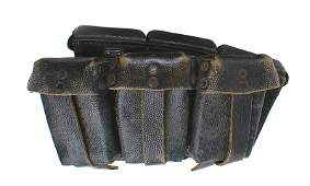 Pair of German WWII Navy K98 pouches