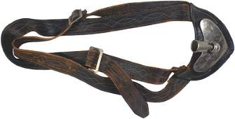 Indian Wars Period flag pole carrier