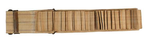SpanAm War Mills woven cartridge belt