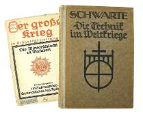 Lot of 2 Imperial German books Grosse Krieg