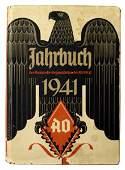 German WWII book JAHRBUCH AUSLANDS
