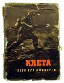 German WWII book KRETA KUHNSTEN