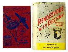 Lot of 2 US WWII books 101st Airborne
