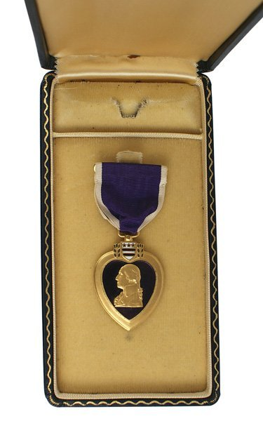 U.S. WWII Purple Heart Red Ball Express