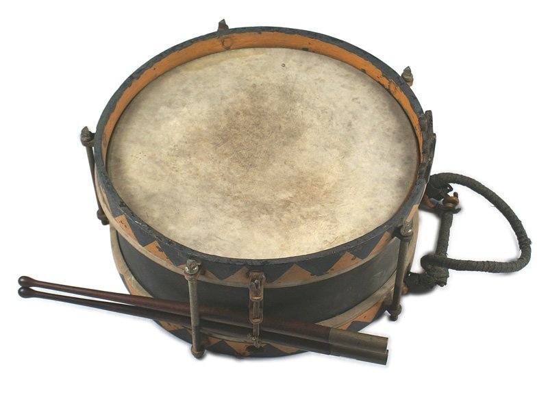 German WWII SS marching snare drum