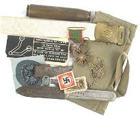 WWI and WWII German Iron Medal lot etc