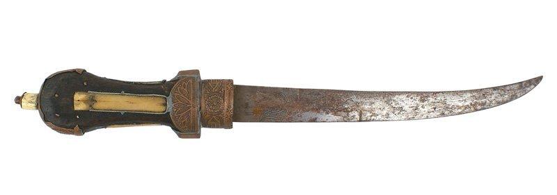 North African jimbaya dagger knife