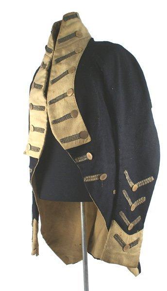 U.S. War of 1812 Infantry officers coatee