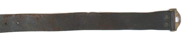 US Indian Wars Period belt