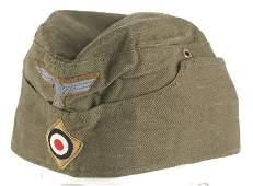 German WWII Afrika Korps EM oseas cap