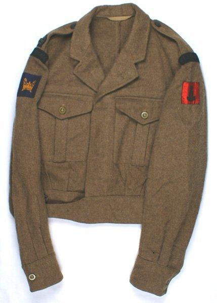 British WWII Rifle Brigade tunic