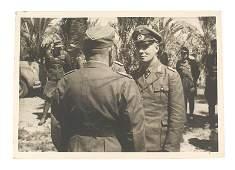 General Erwin Rommel signed photo