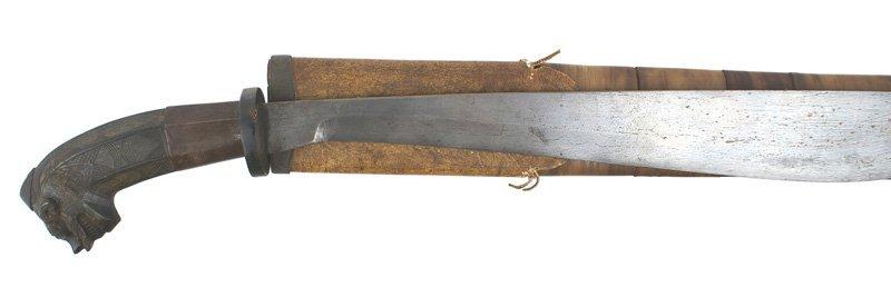 Malayan Golok jungle dagger South Pacific