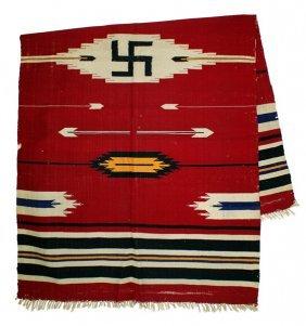 Antique American Indian Blanket