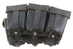 German Wwii Navy K-98 Cartridge Pouches
