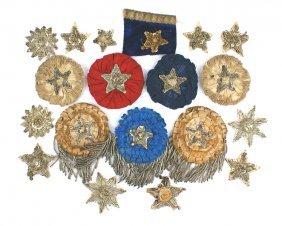 Civil War Confederate Secession Badges Lot
