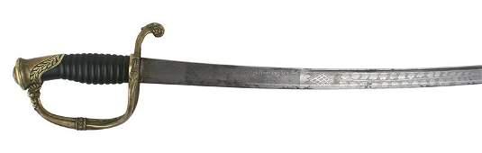 Civil War Confederate cavalry saber sword